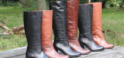 laarzen brede schacht